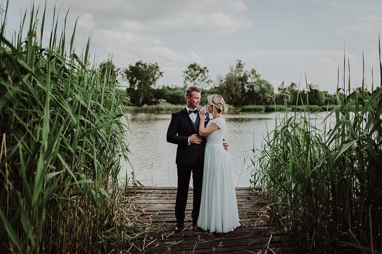 Paulina + Krzysztof – Plener ślubny nad jeziorem Mitręga