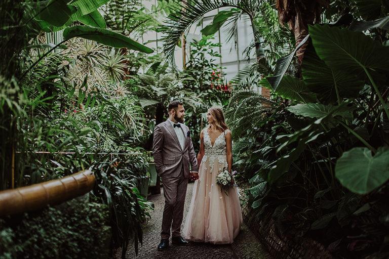 Sesja ślubna w Palmiarnii – Monika + Mateusz