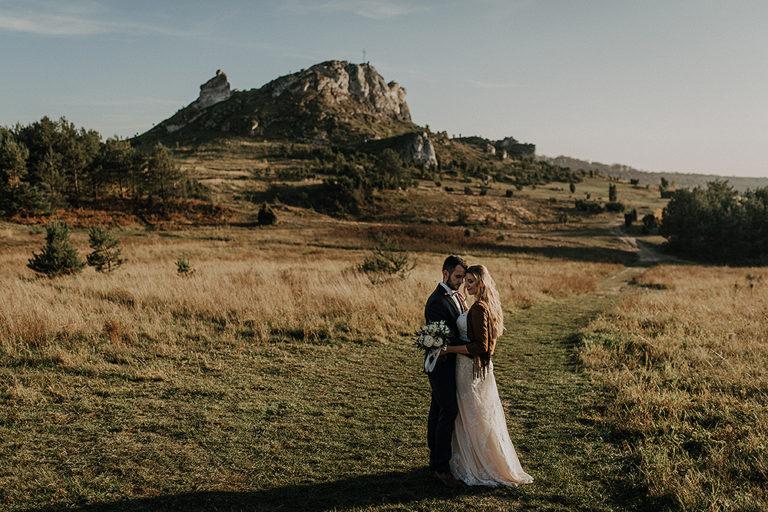 Plener ślubny na wzgórzu – Monika + Seweryn
