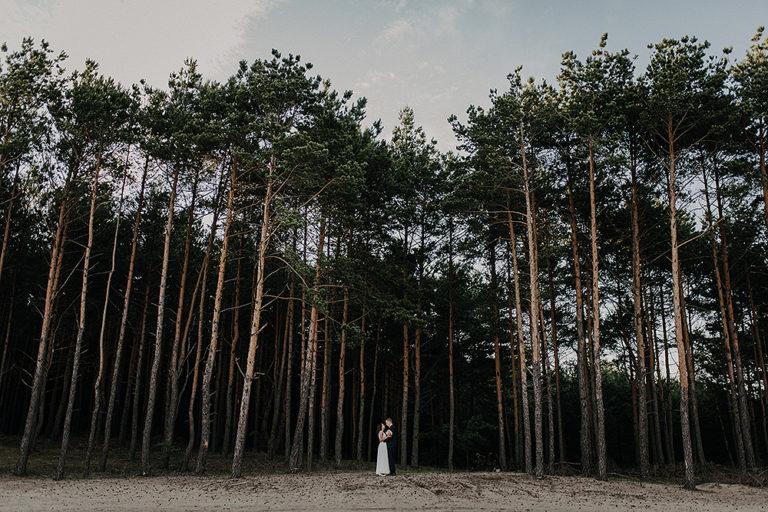 Plener ślubny na Pustyni Błędowskiej – Ania + Grzesiek