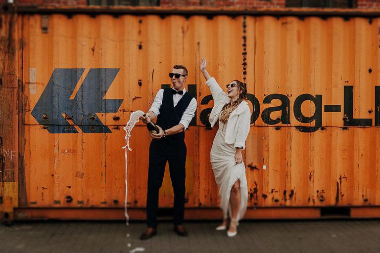 Sesja ślubna na terenie Fabryki Porcelany – Karina + Gracjan